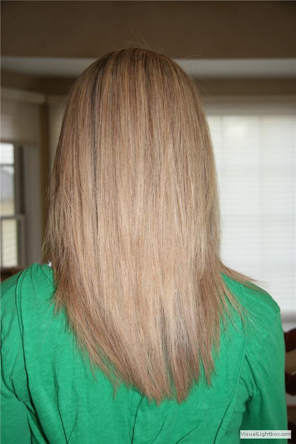 how to cut long hair in layers. hair cut - long layers,